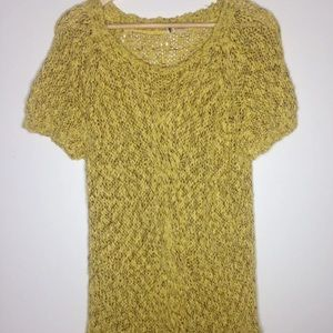 Anthropologie Moth Long Knitted Top Tunic Dress M